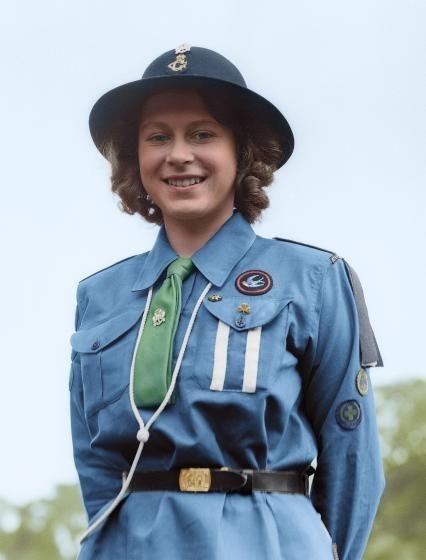 Цветные фотографии молодой королевы Елизаветы II из архива Time