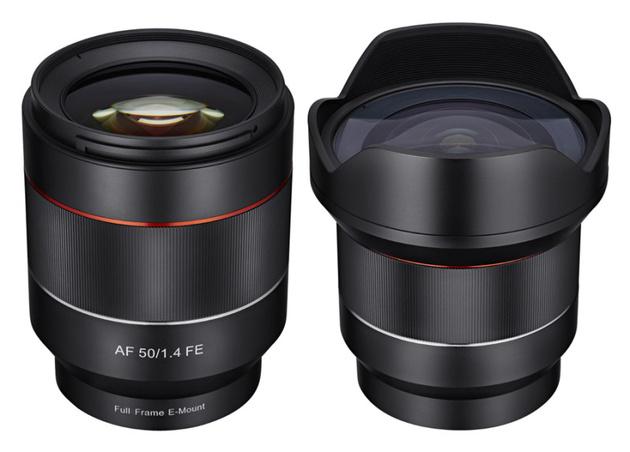Первые автофокусные объективы Samyang – 50/1.4 и 14/2.8 для Sony FE