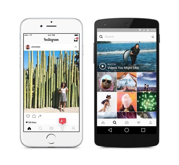 Instagram: Большие изменения фотоприложения