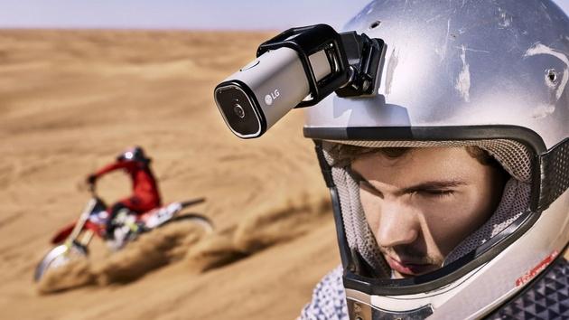 LG Action Cam позволит стримить видео в YouTube без подключения к смартфону