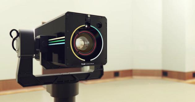 Гигабайтная «Художественная камера» Google увековечивает картины великих художников