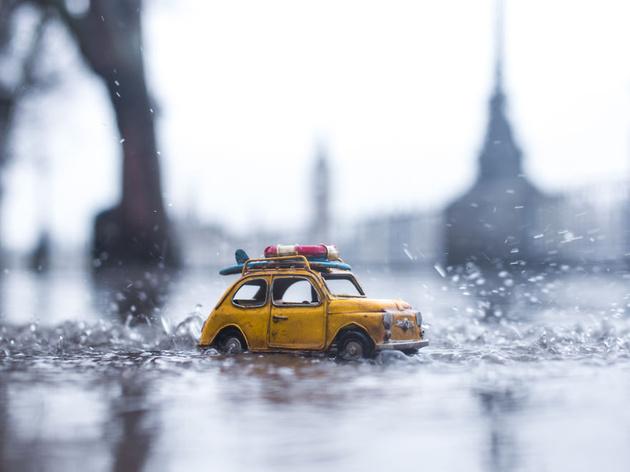 Инстаграм дня: маленькие автомобили в большом мире