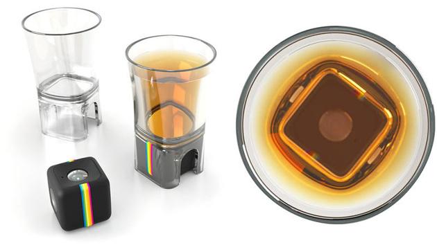 Рюмка с креплением для экшн-камер Polaroid Cube