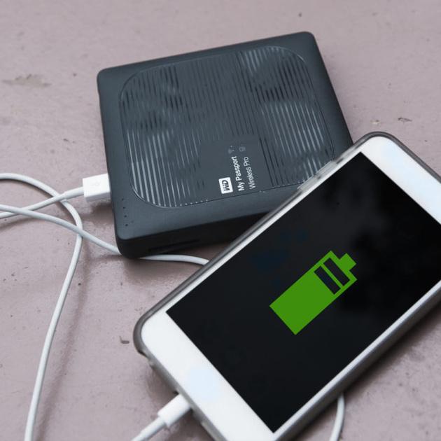 Внешний жесткий диск Western Digital Wireless Pro