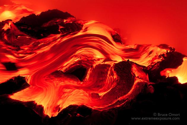 Вулканы Брюса Омори