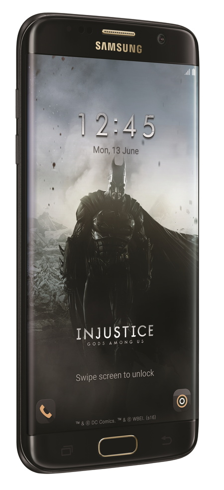Эксклюзивная серия Samsung Galaxy S7 edge Injustice Edition доступна для заказа  только 28 июня