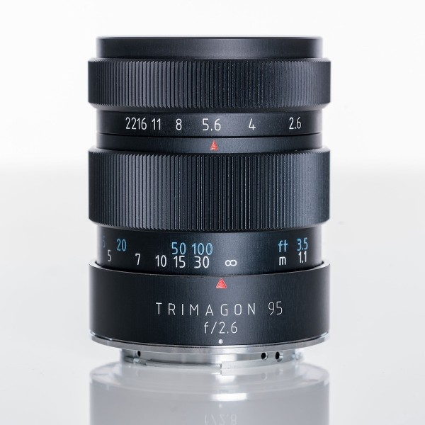 Трехэлементный объектив Meyer-Optik Trimagon 95mm f/2.6 для съемки портретов