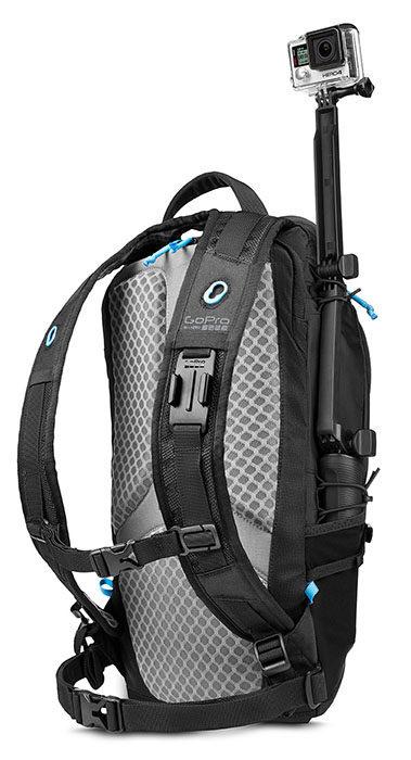 Фирменный рюкзак GoPro Seeker вмещает 5 камер GoPro