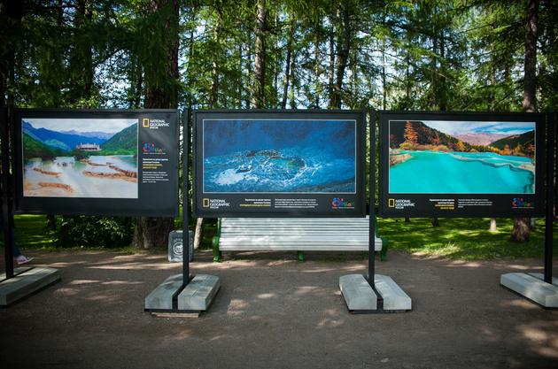 Уличные фотовыставки «National Geographic Россия»