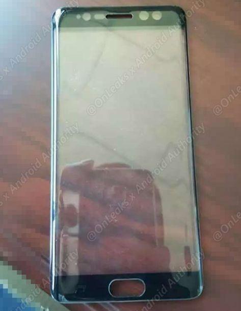 Изображения фаблета Samsung Galaxy Note 7 утекли в сеть