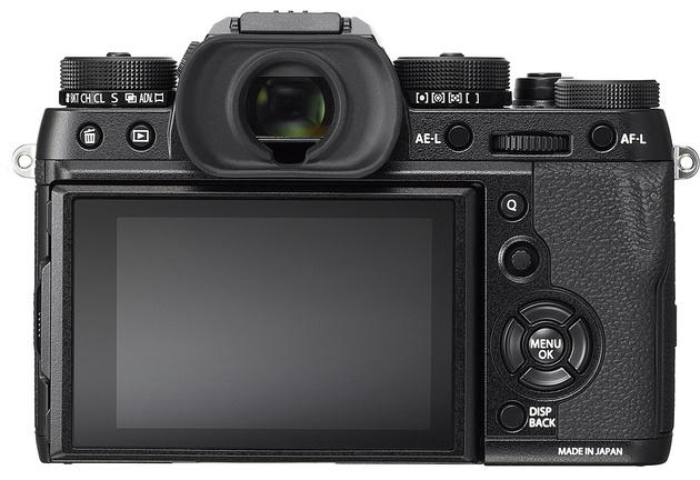 Анонсирована Fujifilm X-T2 – с 325-точечным автофокусом и видеосъемкой в формате 4К