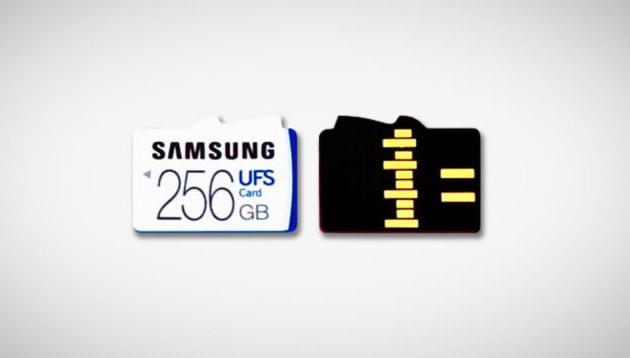 Samsung выпускает карты памяти стандарта UFS – в пять раз более быстрые, чем microSD