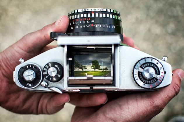 Снимки, сделанные сразу на две камеры