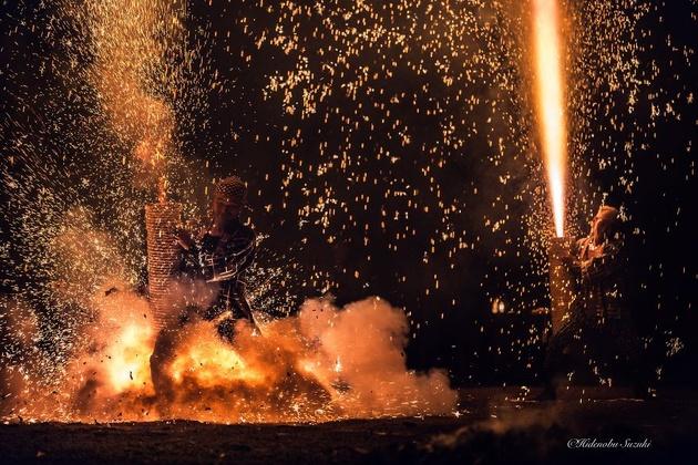 Тезутсу Ханаби – фестиваль фейерверков в Японии