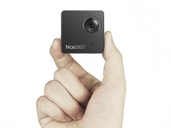 Nico360 – самая маленькая в мире камера для съемки круговых панорам