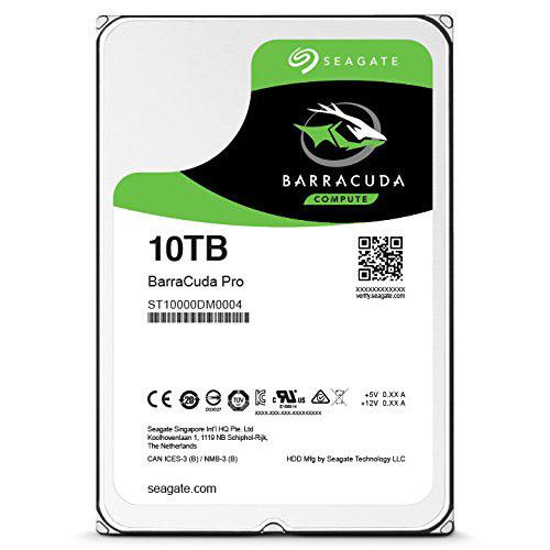 Seagate выпускает жесткий диск для настольных компьютеров емкостью 10 TБ