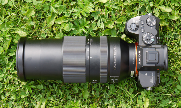 Обзор объектива Sony FE 70-300mm f/4.5-5.6 G OSS