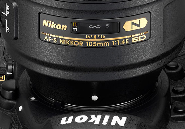 Nikkor 105mm f/1.4E