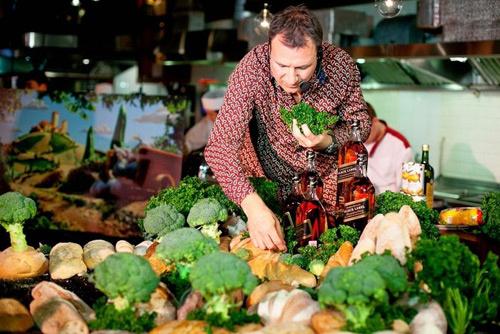Карл Уорнер: еда как искусство