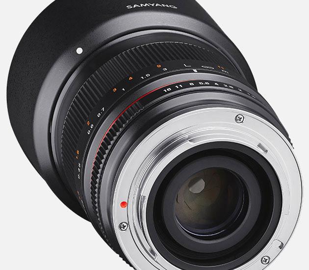 Светосильный Samyang 35mm f/1.2