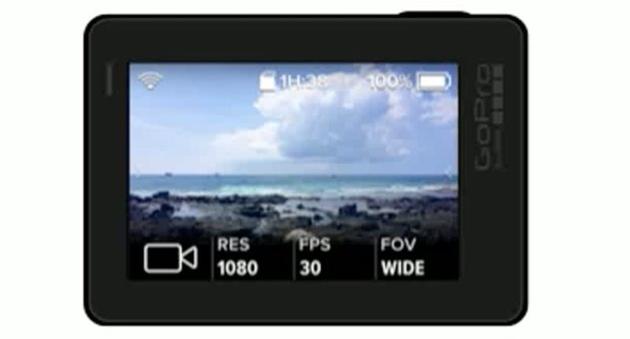 Похоже, что на видеоролике засветилась будущая камера GoPro Hero 5
