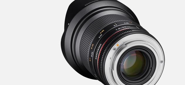 Объектив Samyang 20mm f/1.8