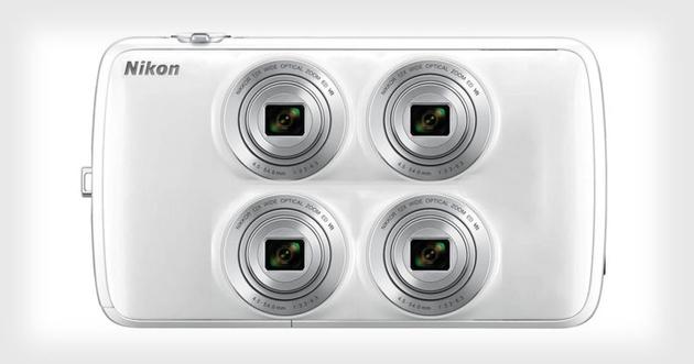 У кого четыре глаза, тот похож… на камеру, которую разрабатывает Nikon