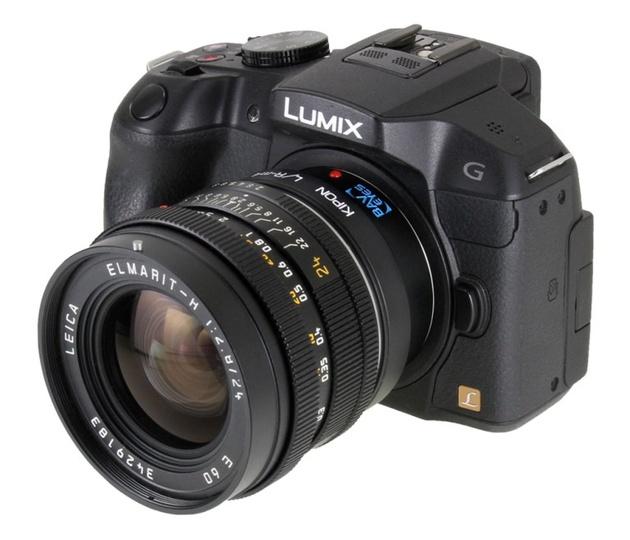 Адаптеры Kipon, увеличивающие светосилу объективов Nikon F и Leica R на камерах Микро 4/3
