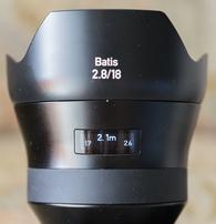 Тест объектива ZEISS Batis 2.8/18