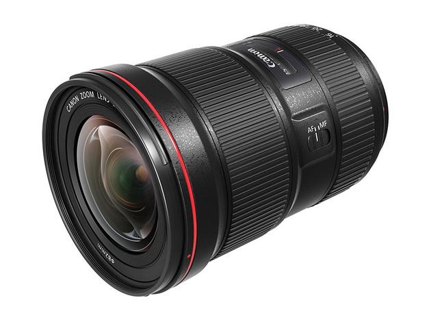 Объективы Canon EF 16-35mm F2.8L III USM и EF 24-105mm F4L IS II USM