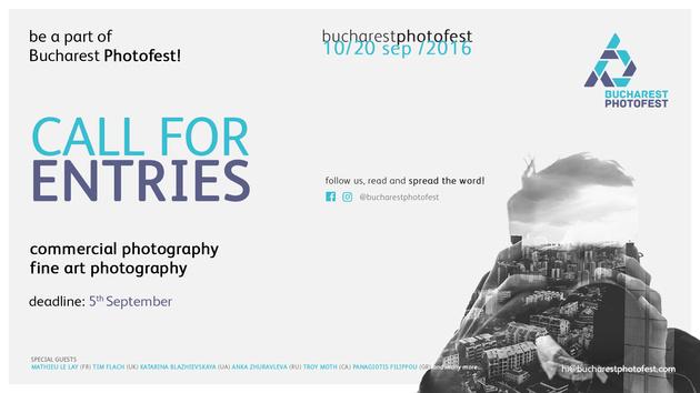 Будь частью международного фестиваля фотографии Bucharest Photofest 2016!