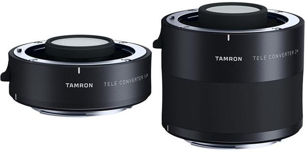 Объектив Tamron SP 150-600mm Di VC USD G2 и два телеконвертера