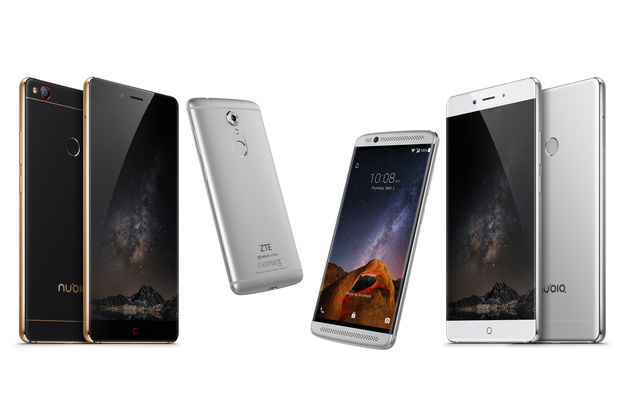 ZTE представил на IFA два смартфона - флагманский Nubia Z11 и Axon mini 7