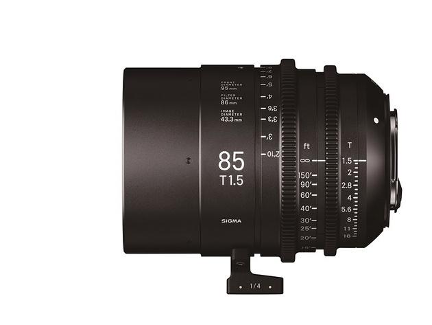 Кинообъективы Sigma 18-35 и 50-100 T2