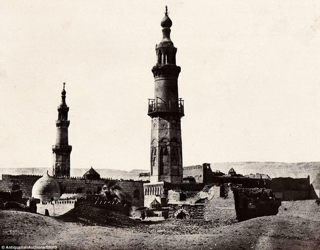 Редкие кадры: Египет 170 лет назад