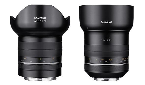 Samyang начинает выпускать объективы класса Premium