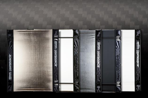 Лёгкие и удобные отражатели Hensel LIGHTBOUNCER сделаны из карбоновых трубок