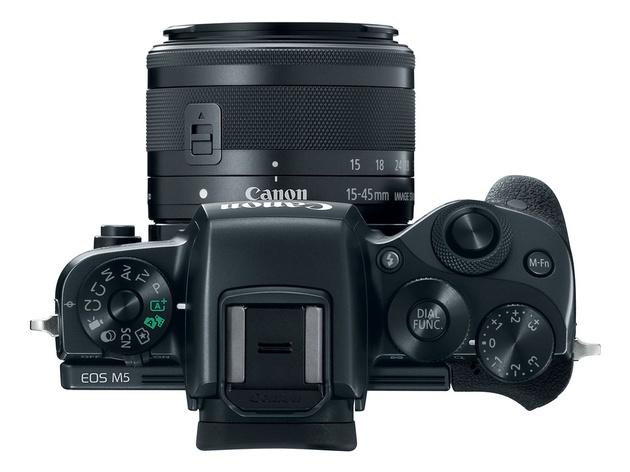 Canon EOS M5 – беззеркальная камера с матрицей APS-C и электронным видоискателем