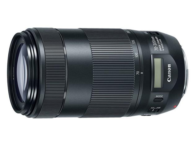 Объектив Canon EF 70-300mm F/4.5-5.6 IS II USM – первый у Canon с ЖК-дисплеем
