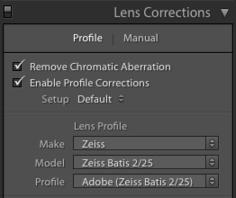 Тест объектива ZEISS Batis 2/25