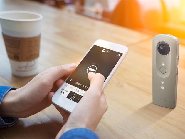 Ricoh Theta SC – недорогая возможность снимать качественные круговые фото- и видеопанорамы