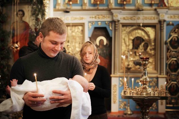 Как снимать таинство крещения