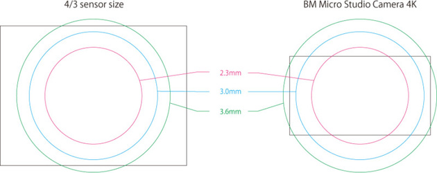 Суперфишай для Микро 4/3 с углом зрения 250° может снимать даже назад