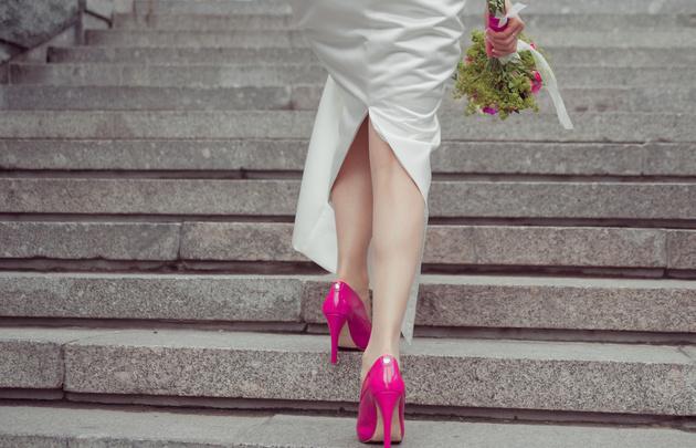 Снимаем букет невесты