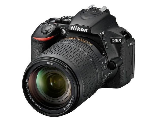 Анонсирована любительская зеркальная камера Nikon D5600