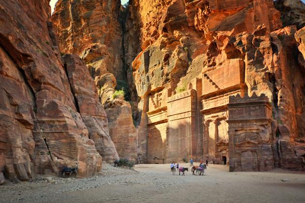 Петра — затерянная сокровищница Ближнего Востока