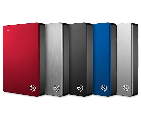 Seagate 5TB Backup Plus Portable – самый ёмкий из портативных внешних накопителей