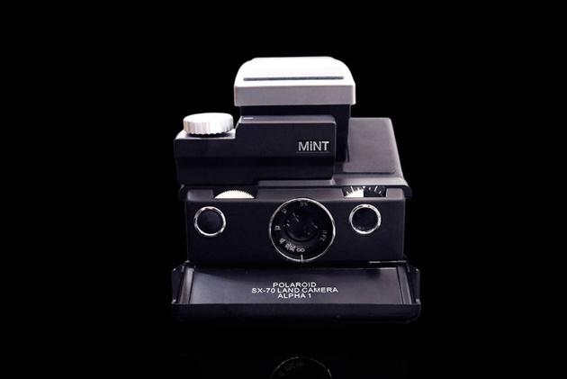 MiNT SLR670-S Noir – тюнингованная версия моментальной камеры Polaroid SX-70