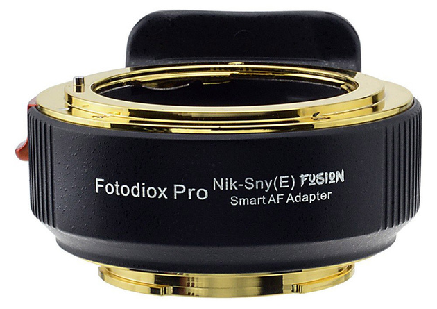 Fotodiox представил полностью автоматический адаптер с Nikon на Sony E