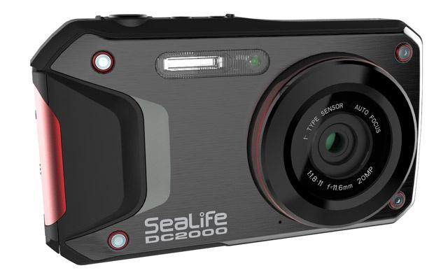 """Подводная камера SeaLife's DC2000 с матрицей 1""""."""